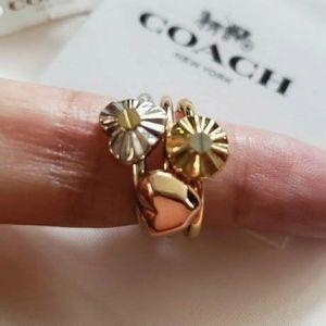Coach Tritone Rings - Size 6
